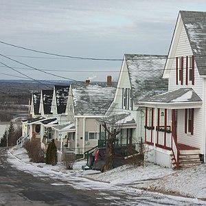 Trenton, Nova Scotia - Image: Albion Street Trenton