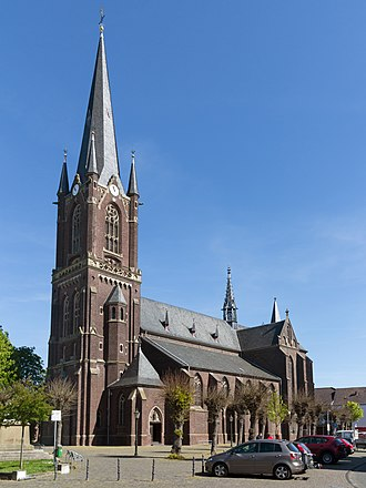 Kerken - Aldekerk, church: die Sankt Peter und Paul Kirche