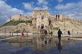 Aleppo, citadel 2009 reflection.jpg
