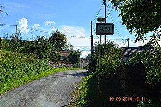 Aleu - The road into Aleu