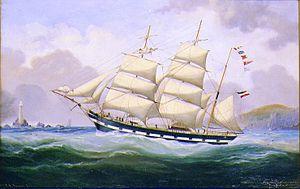 Alexander K. Branden - Ship Portrait of the German Bark BOBSIEN-KAEGSDORF.jpg