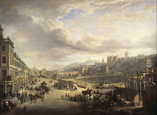 Alexander Nasmyth - Princes Street with the Commencement of the Building of the Royal Institution - Google Art Project