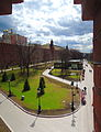 Alexandrovsky Garden - Middle Garden, view from Troitsky bridge (2015) by shakko 02.jpg