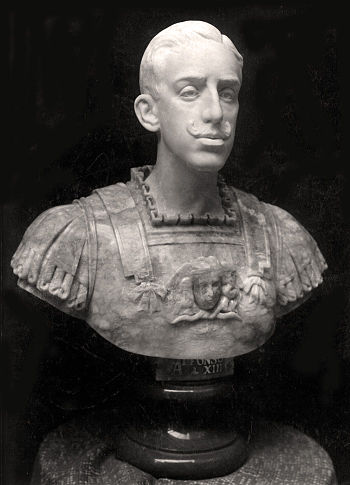 Alfonso XIII sculpted by Jos%C3%A9 Navas-Parejo