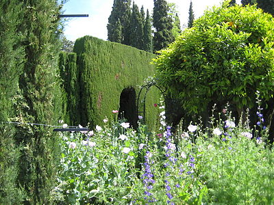 Alhambra, Generalife (2008) by shakko 01.JPG