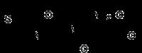 Strukturformel von Alitam
