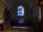 All Saint's Church interior, Tudeley - geograph.org.uk - 1738728