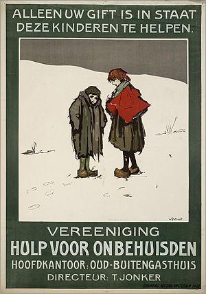 "Nederlands: Affiche: ""Alleen uw gift is i..."