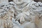 Allegories of rivers Inn and Danube, Pallas Athene fountain.JPG