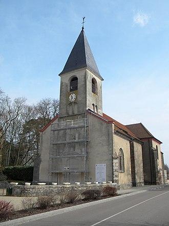 Allerey-sur-Saône - The church in Allerey-sur-Saône