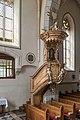 Althofen Pfarrkirche hl. Thomas von Canterbury Kanzel 24062015 5255.jpg