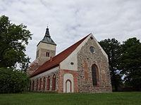 Altlandsberg Stadtpfarrkirche St. Marien Südostansicht mit Chor 01.JPG