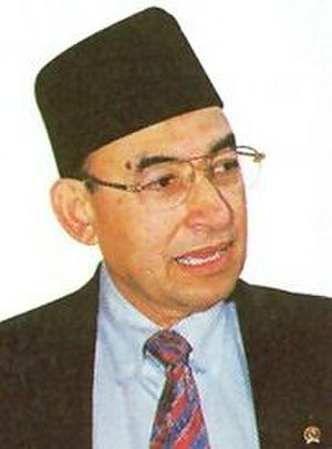 Indonesian legislative election, 2004 - Alwi Shihab