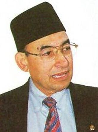 Indonesian legislative election, 2004 - Alwi Shihab