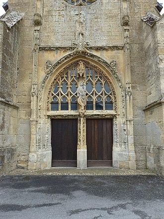 Amagne - Image: Amagne (Ardennes) église, portail