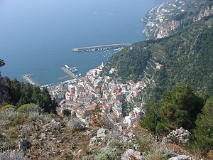 Amalfi, view from above.JPG