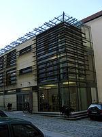 Amberg - Staatliche Bibliothek (Provinzialbibliothek), Anbau.jpg