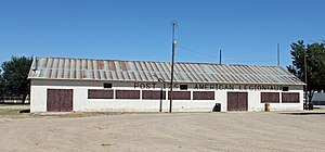 American Legion Hall (Eads, Colorado) - The hall in 2013.
