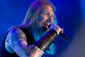 Amon Amarth - Johan Hegg in 2017