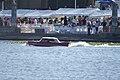 Amphicar 770 1965 0479 Morning swim 05 Lake Mirror Cassic 16Oct2010 (14854367606).jpg