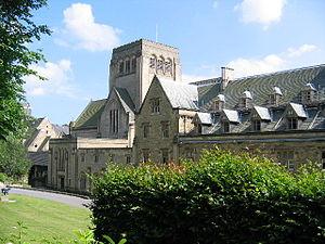 Ampleforth Abbey - Image: Ampleforth Abbey geograph.org.uk 25915