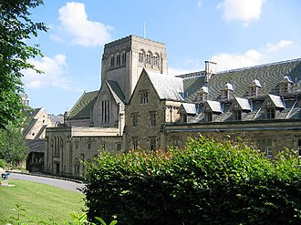 Ampleforth Abbey - Image: Ampleforth Abbey geograph.org.uk 25915