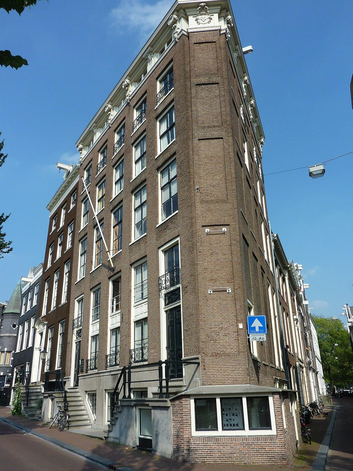 Castrum peregrini wikipedia for Herengracht amsterdam
