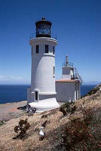 National Register of Historic Places listings in Ventura County, California - Image: Anacapa lighthouse