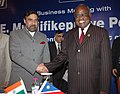 Anand Sharma and the President of Republic Namibia, Mr. Hifikepunye Pohamba, at the Business Luncheon Meeting of Confederation of Indian Industry (CII).jpg