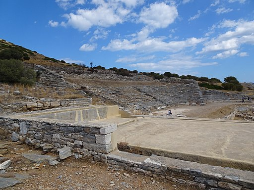 Ancient Theatre of Thorikos and Level washery