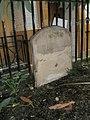 Ancient gravestone opposite rear entrance of House of Fraser - geograph.org.uk - 924411.jpg