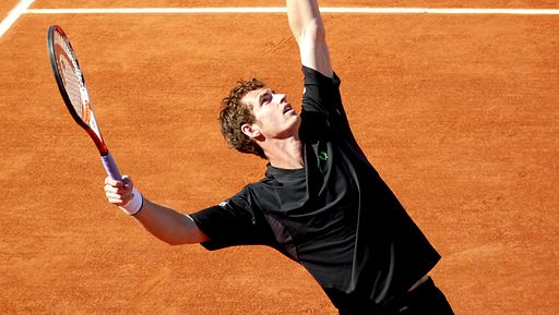 Andy Murray at the 2009 French Open 4