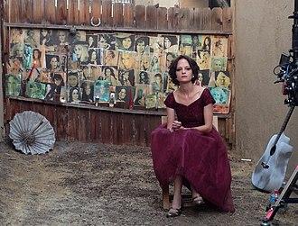 Angela Bettis - Angela Bettis in Movie Music Kills A Kiss (2013 music video by Califone)