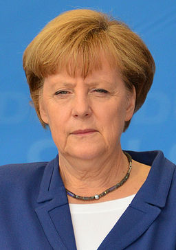 Angela Merkel Hamburg May 2014