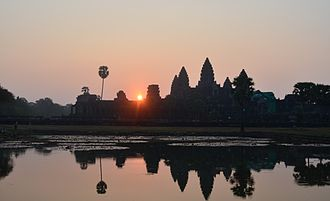 Angkor - Angkor Wat at sunrise