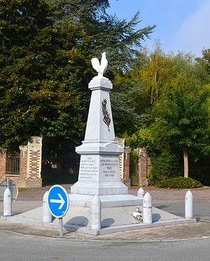 Anguilcourt-le-Sart - Anguilcourt-le-Sart War Memorial