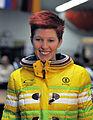 Anja Huber bei der Olympia-Einkleidung Erding 2014 (Martin Rulsch) 02.jpg