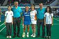 Ankara - BWF World Senior Badminton Championships - WS 70 - Marg def Lisbeth Bengtsson (SWE) 12 & 10 (11078014865).jpg