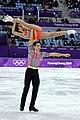 Anna Dušková and Martin Bidař - 2018 Olympics - 5.jpg