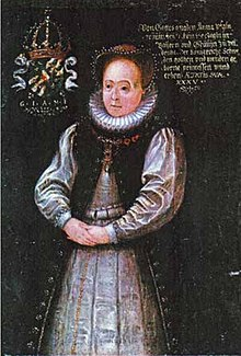 Anna Maria of Sweden Anna of the Veldenz Palatinate 1580 by unknown.jpg
