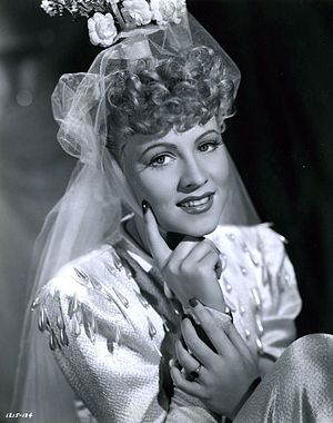 Anne Jeffreys - Jeffreys in I Married an Angel (1942)