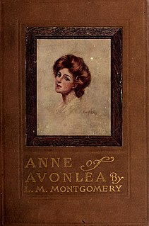 <i>Anne of Avonlea</i> Book by Lucy Maud Montgomery