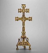 Anoniem, Reliekkruis van het Heilige Kruis (ca. 1228 - 1250), TO 25, KBS-FRB (2).jpg