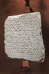 Épitaphe de Poncius