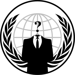 Anonymous (group) symbol