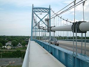 Anthony Wayne Bridge - Anthony Wayne Bridge Deck