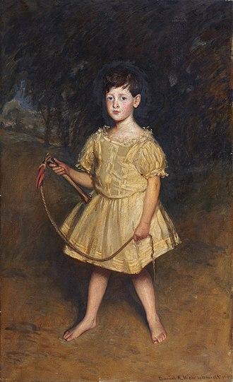 Daniel A. Wehrschmidt - Anthony Maxtone Graham by Daniel A. Wehrschmidt. Oil on canvas, 1904.