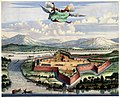 Antique print of the Batticaloa Fort, 1672.jpg