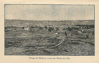 Medora, North Dakota - Image: Antoine Morès A 02