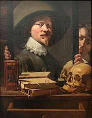 Vanitas Portrait of the Painter